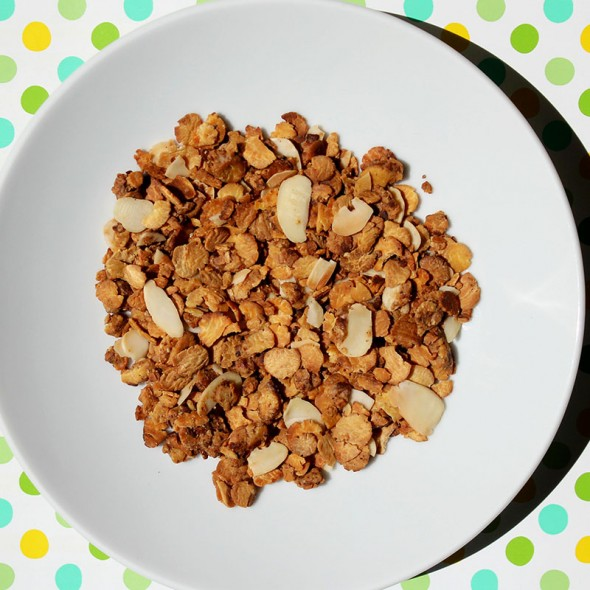 Toll für Overnight Oats Rezepte: Mandel Granola Low Carb