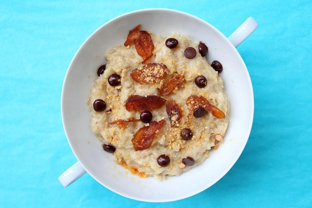 Wenn es draußen kalt ist, muss die Wärme von innen kommen. Zum Beispiel aus Porridge.