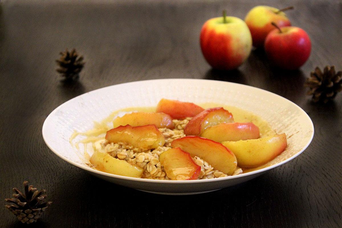 Overnight-Oats-Apfel-Honig-Karamell