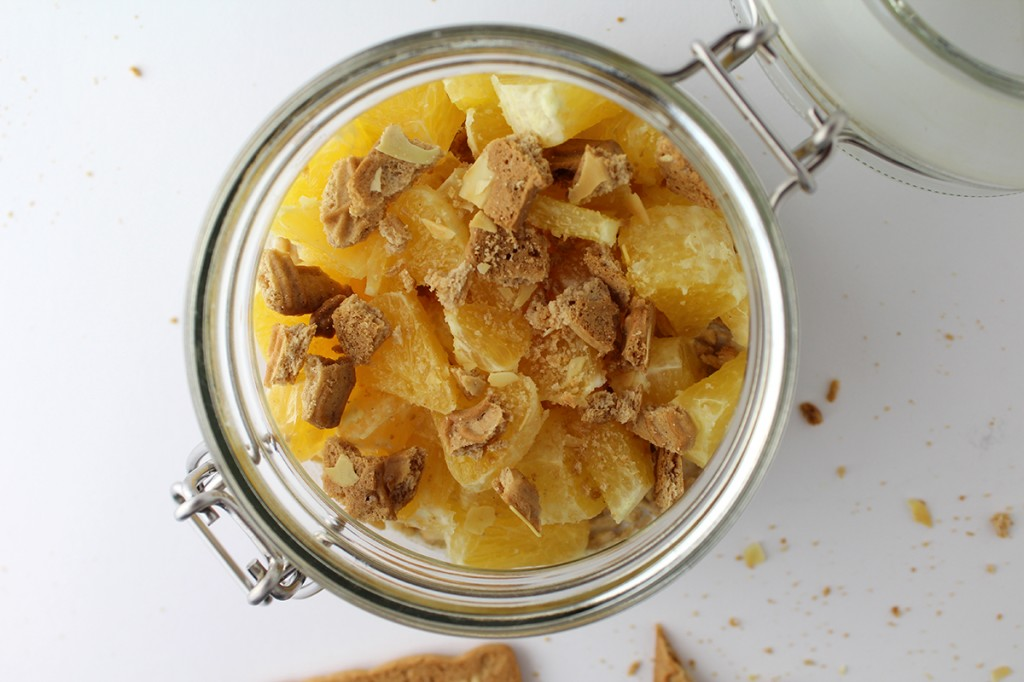 Overnight Oats Spekulatius Orange Mandeln