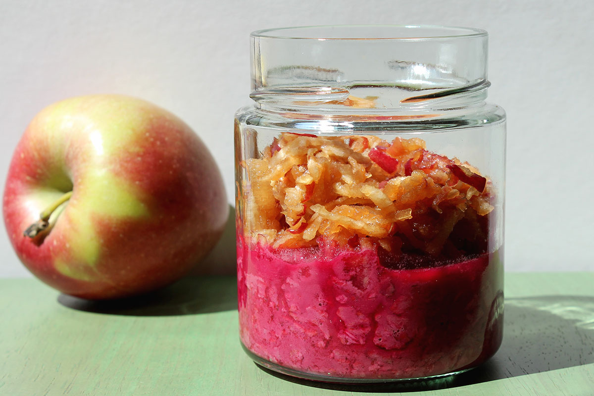 Oats rote Beete Apfel