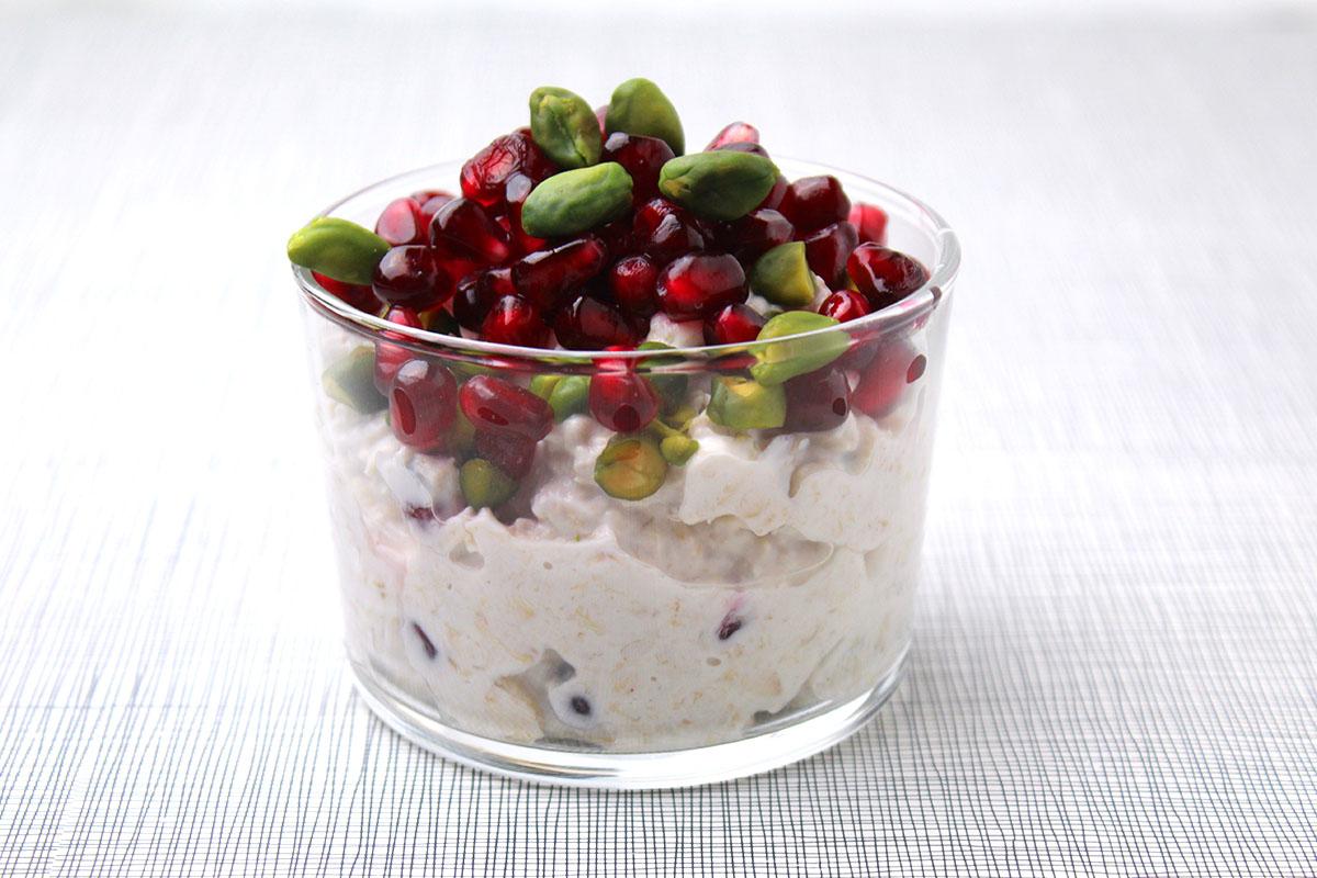 overnight-oats-Granatapfel-Pistazien