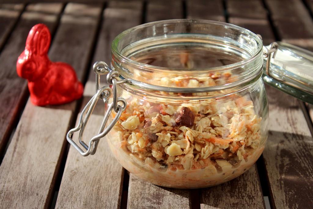 overnight oats Rüblikuchen 2