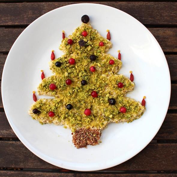 Overnight-Oats-Weihnachtsbaum