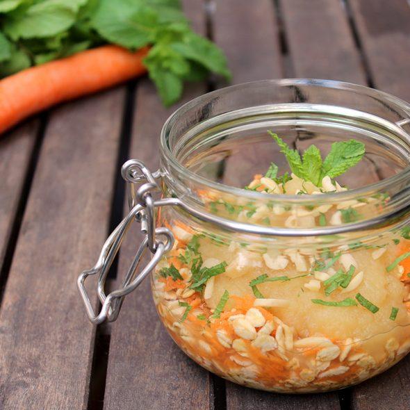 overnight-oats-moehre-apfel-minze