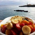 Teneriffa-Oats mit Papaya und Bananen