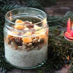 1. Advents Overnight Oats mit Marzipan