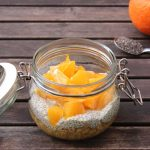 Overnight Oats mit Orangen-Chia-Pudding