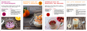 Ebook Overnight Oats mit weniger als 300 kcal (PDF)